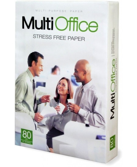 Popierius MULTI OFFICE, 80 g/m2, A3, 500 lapų