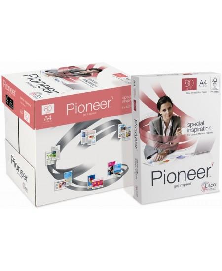 Popierius PIONEER, 80 g/m2, A4, 500 lapų