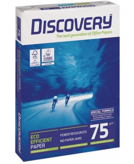 Popierius DISCOVERY, 75 g/m2, A4, 500 lapų