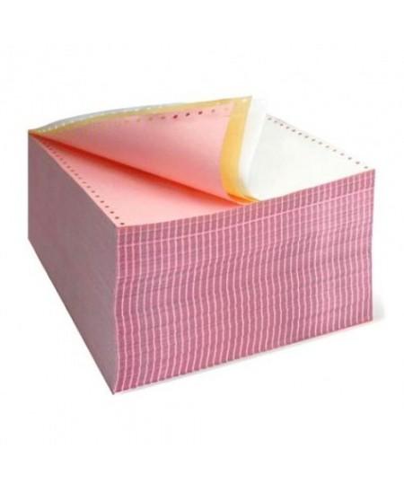 Perforuotas popierius, trisluoksnis, su kraštine perforacija, A4, 600 komplektų