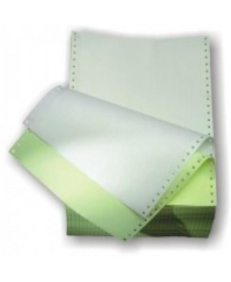 Perforuotas popierius, dvisluoksnis, su kraštine perforacija, A4, 900 komplektų