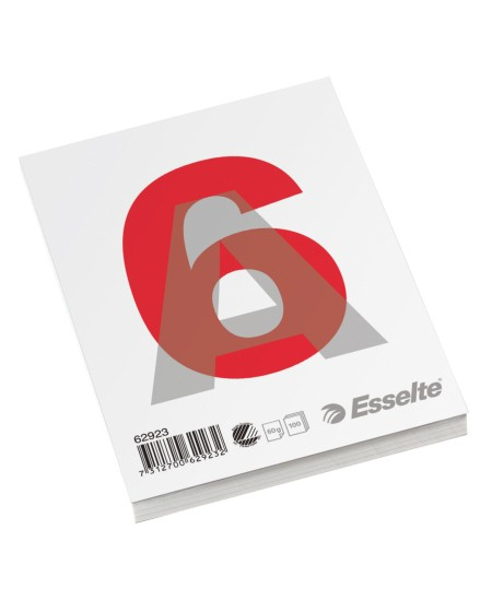 Plėšomi lapai rašymui ESSELTE, A6
