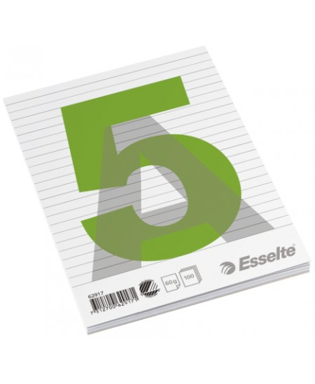 Plėšomi lapai rašymui ESSELTE, A5, linijomis