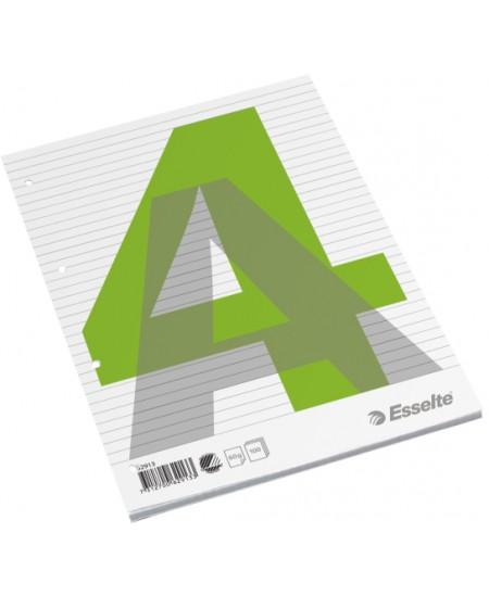 Plėšomi lapai rašymui ESSELTE, A4, linijomis