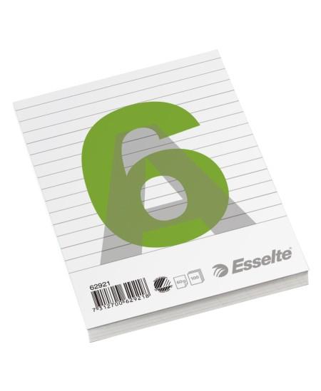 Plėšomi lapai rašymui ESSELTE, A6, linijomis
