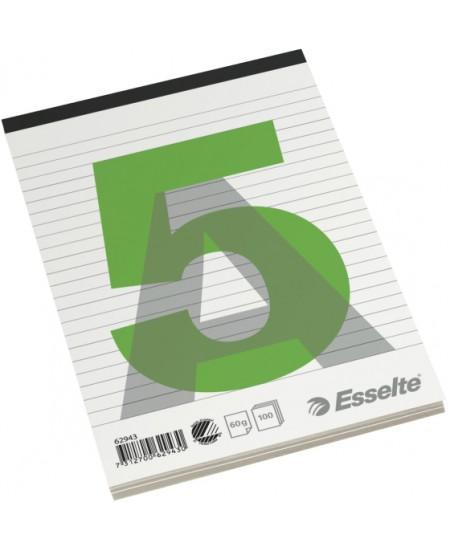 Bloknotas ESSELTE, A5, linijomis