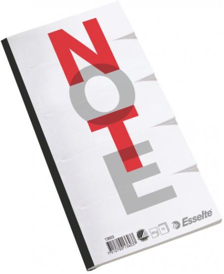 Plėšomas bloknotas ESSELTE DELTA, lapai padalinti į 5 dalis