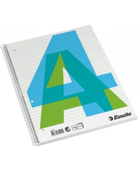 Bloknotas ESSELTE COLLEGE PAD, A4, linijomis