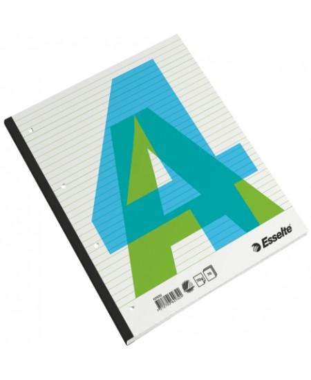 Kontorinis sąsiuvinis ESSELTE, A4, linijomis, mėlynos sp. viršelis