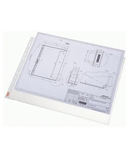 Horizontalios įmautės dokumentams ESSELTE, A3, 50vnt., matinės