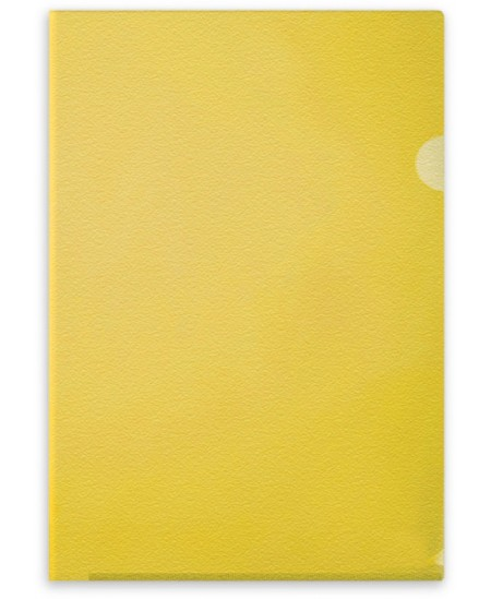 Dėklas L formos FORPUS, 115 mikr., A4, geltonas