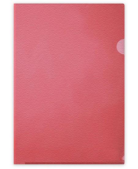Dėklas L formos FORPUS, 115 mikr., A4, raudonas