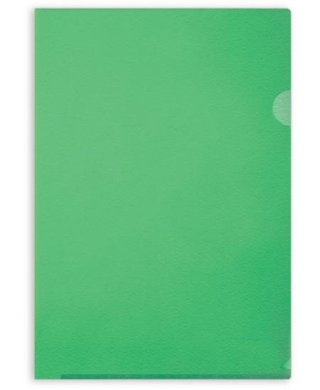 Dėklas L formos FORPUS, 115 mikr., A4, žalias