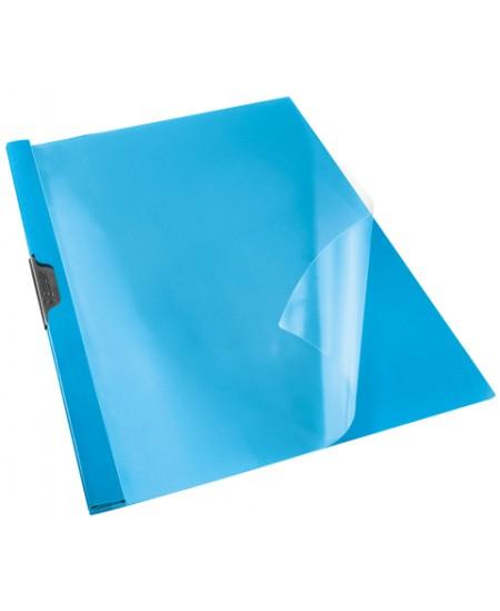 Aplankas su spaustuku ESSELTE, A4, mėlynas