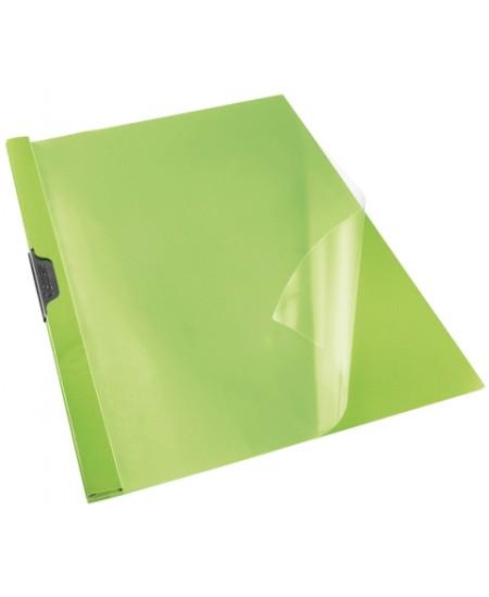 Aplankas su spaustuku ESSELTE, A4, žalias