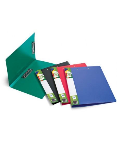 Aplankas su dviem prispaudėjais FORPUS Basic, A4, žalias