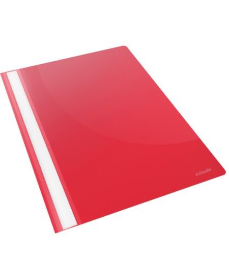 Aplankai su įsegėle ESSELTE, A4, 25 vnt., raudoni