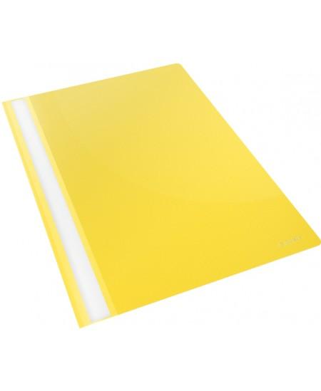 Aplankai su įsegėle ESSELTE, A4, 25 vnt., geltoni