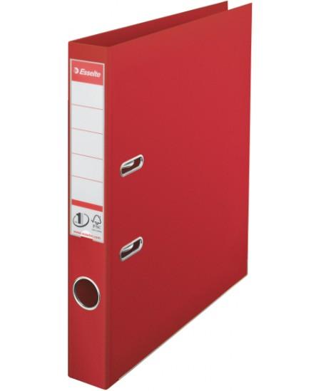 Segtuvas ESSELTE No.1, standartinis, A4, 50 mm, raudonas