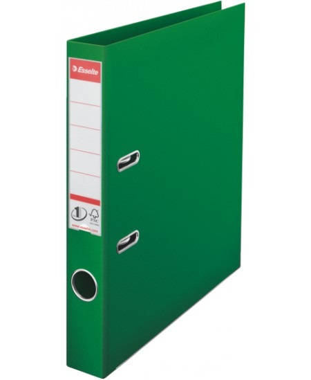 Segtuvas ESSELTE No.1, standartinis, A4, 50 mm, žalias