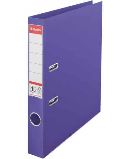 Segtuvas ESSELTE No.1, standartinis, A4, 50 mm, violetinis
