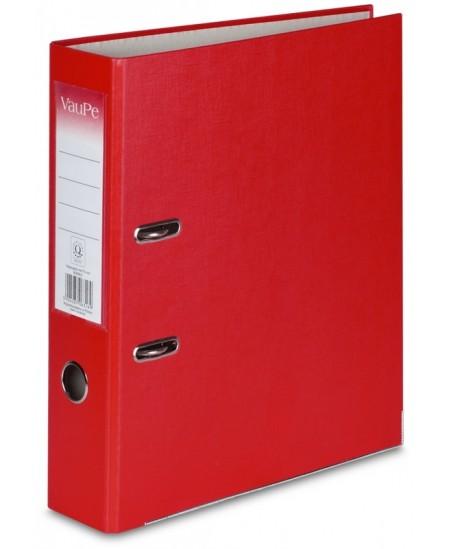 Segtuvas X-FILES, standartinis, A4, 75 mm, raudonas