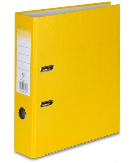 Segtuvas X-FILES, standartinis, A4, 75 mm, geltonas
