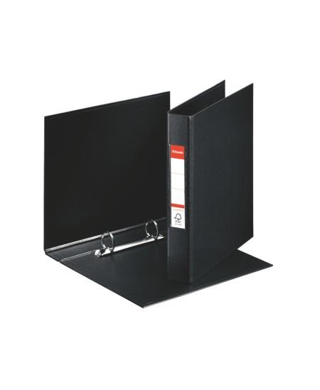 Žiedinis segtuvas ESSELTE, 2 žiedų, A5, 35 mm, juodas