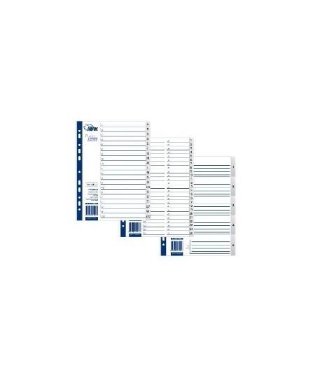 Skiriamieji lapai FORPUS, 1-31, A4