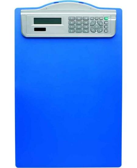 Pagrindas rašymui be atvarto ALCO, su skaičiuotuvu, A4, mėlynas