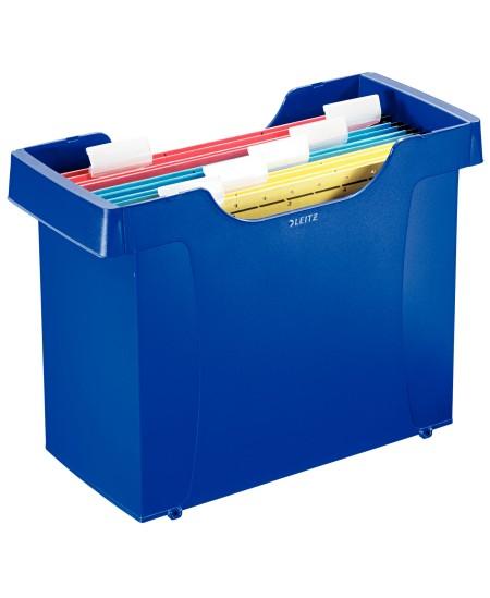 Kartotekinių vokų dėžė LEITZ Plus, mėlyna