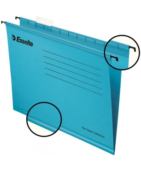 Kartotekinis vokas ESSELTE Classic, mėlynas
