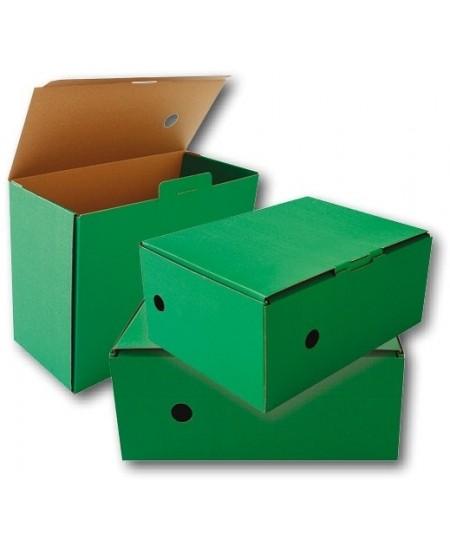 Archyvinė dėžė SM-LT, 150x340x250 mm, mikrogofro, žalia