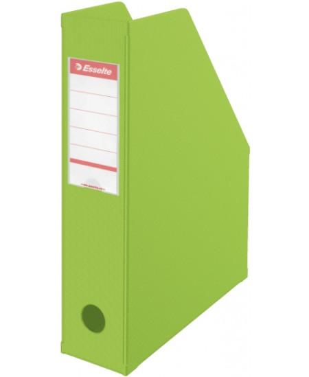 Sulankstomas dokumentų stovas ESSELTE, A4, 70mm, žalias