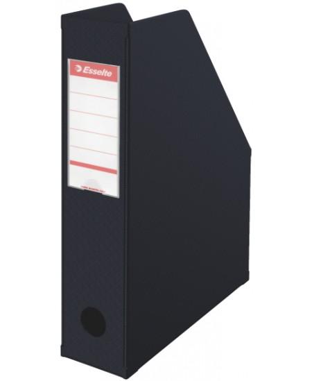 Sulankstomas dokumentų stovas ESSELTE, A4, 70mm, juodas