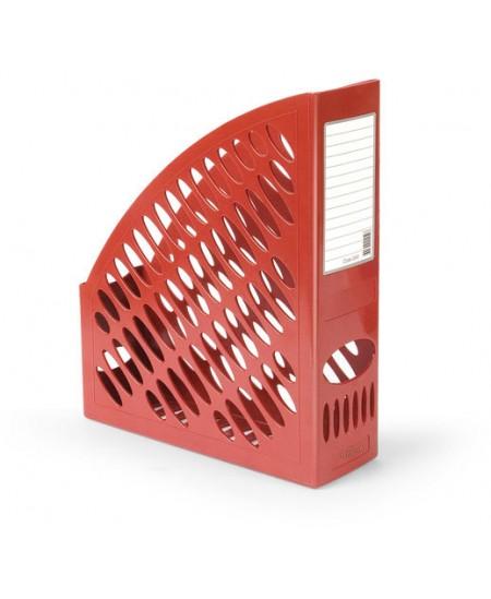 Dokumentų stovas FORPUS, 70mm, raudonas