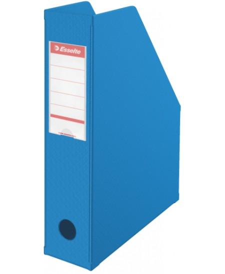 Sulankstomas dokumentų stovas ESSELTE, A4, 70mm, mėlynas
