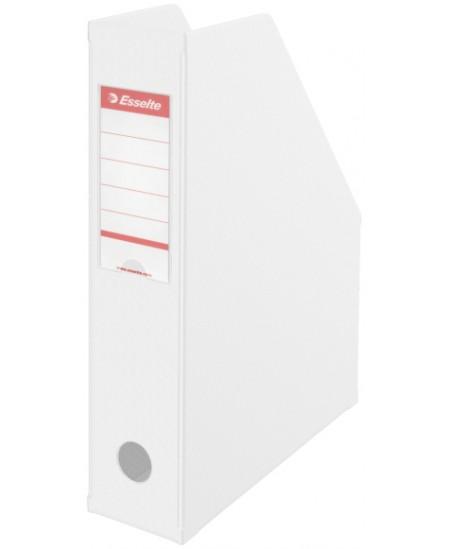 Sulankstomas dokumentų stovas ESSELTE, A4, 70mm, baltas