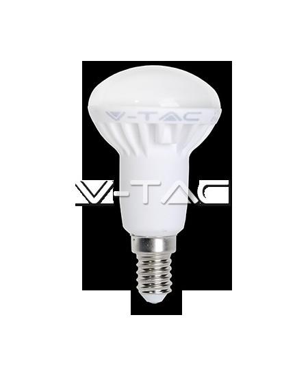 Šviesos diodų (LED) elektros lemputė, E14, 6W, 3000K, nupjauto kūgio formos