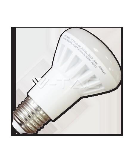 Šviesos diodų (LED) elektros lemputė, E27, 8W, 3000K, nupjauto kūgio formos