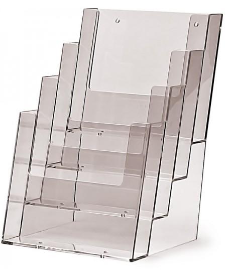 Bukletų laikiklis, A5 (148x210mm), vertikalus, 4xA5