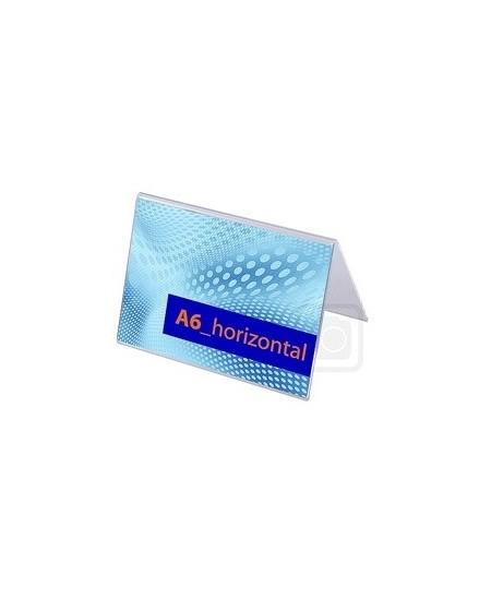 Reklaminis stovelis, A forma, A6 (148x105mm), horizontalus