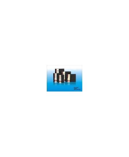 Vizitinių kortelių albumas HEETON, 120 kortelių, dirbtinė oda, juodas