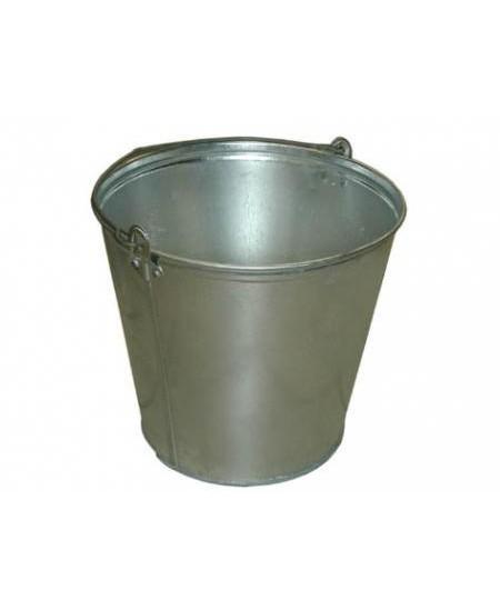 Kibiras cinkuotas su rankena, 12 litrų