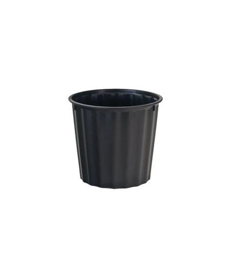 Šiukšlių dėžė HEIDRUN, 60l, be dangčio, juoda