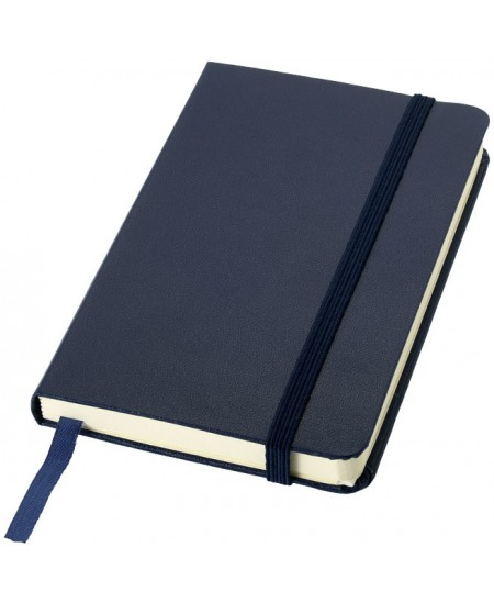 Užrašų knygelė JOURNAL BOOKS su gumele, A6, linija, mėlyna