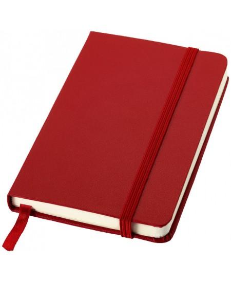 Užrašų knygelė JOURNAL BOOKS su gumele, A6, linija, raudona