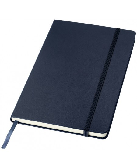 Užrašų knygelė JOURNAL BOOKS su gumele, A5, linija, mėlyna