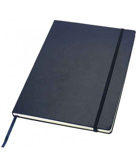 Užrašų knygelė JOURNAL BOOKS su gumele, A4, linija, mėlyna