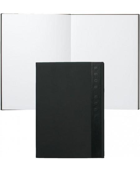 Prabangi užrašų knygelė HUGO BOSS, A5, tušti lapai, juoda